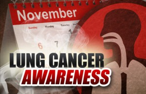 Lung Cancer Awareness Month 2013